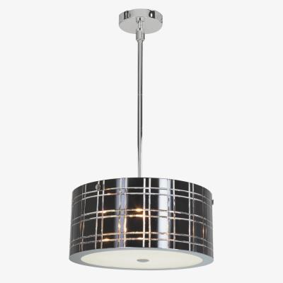 Access Lighting 50976-CH/WH Kalista - Six Light Cylinder Pendant