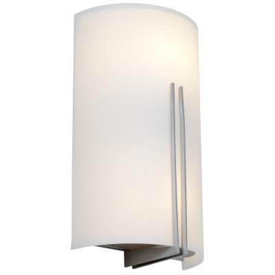 Access Lighting 20446-BS/WHT Prong - Two Light Wall Sconce