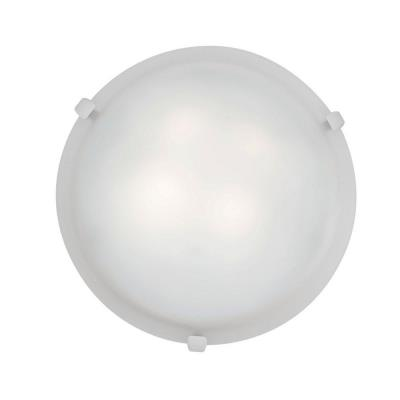 Access Lighting 23019GU-WH/WH Mona - Two Light Flush Mount