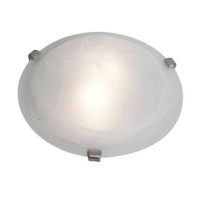 Access Lighting 23020GU-BS/WH Mona - Two Light Flush Mount