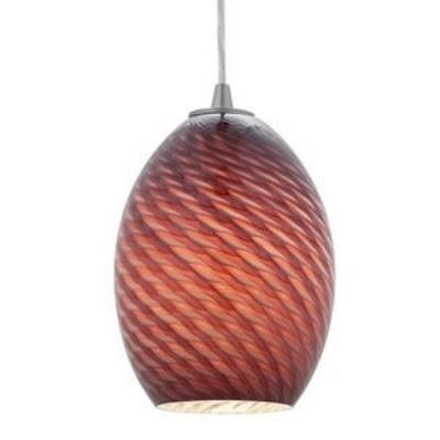 "Access Lighting 23123-PLMFB FireBird Ostrich - 6"" Shade (Glass Only)"