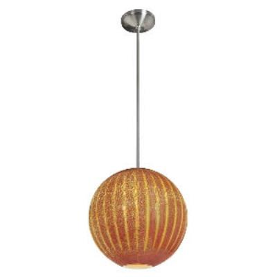Access Lighting 23640-BS/SARO Safari-- One Light Pendant