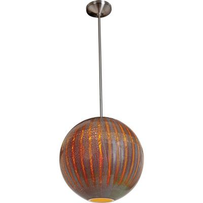 Access Lighting 23642-BS/SARO Safari-- One Light Pendant