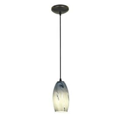 Access Lighting 28811-ORB/BLUSKY Tali Inari Silk - One Light Pendant