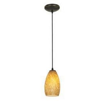 Access Lighting 28812-ORB/AMST Tali Inari Silk - One Light Pendant