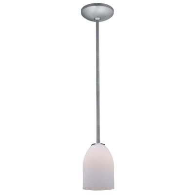 Access Lighting 28018-2R-BS/OPL Julia- - One Light Cone Pendant