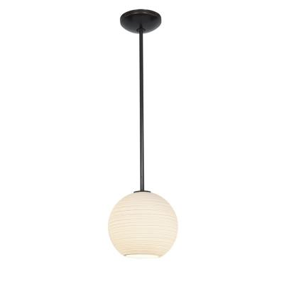 Access Lighting 28087-2R-ORB/WHTLN Lantern - One Light Pendant
