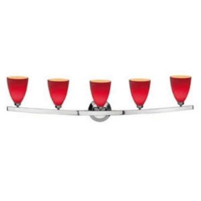 Access Lighting 63815-19-MC/RED Sydney - Five Light Bath Bar