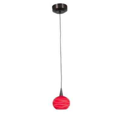 Access Lighting 94979-BRZ/REDLN Zeta - One Light Pendant