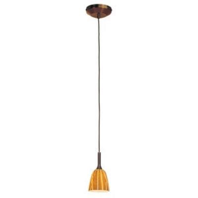 Access Lighting 97924-BRZ/AMZ Delta - One Light Pendant