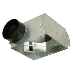 """26.25"""" 50 CFM Bath Vent Housing Only (Pack Of 6)"""