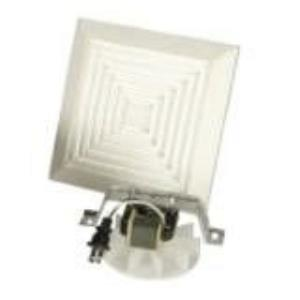 """17.88"""" 50 CFM Bath Vent Motor & Grill Assembly Only (Pack Of 6)"""
