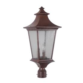 Craftmade Lighting Z1375-98 Argent II - Three Light Post Lantern