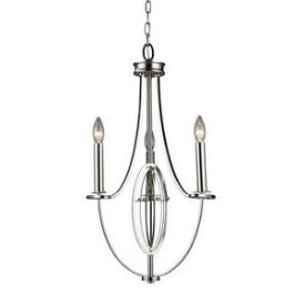 Elk Lighting 10120/3 Dione - Three Light Chandelier