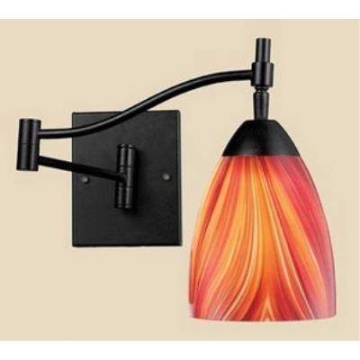 Elk Lighting 10151/1DR-M Celina - One Light Swing Arm Wall Sconce
