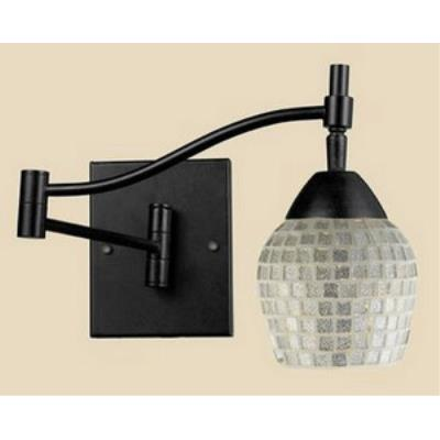 Elk Lighting 10151/1DR-SLV Celina - One Light Swing Arm Wall Sconce