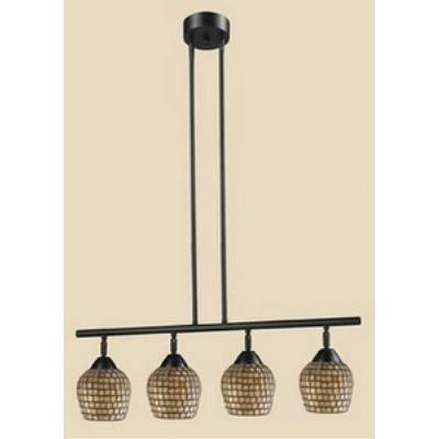Elk Lighting 10153/4DR-GLD Celina - Four Light Island
