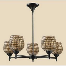 Elk Lighting 10155/5DR-GLD Celina - Five Light Chandelier