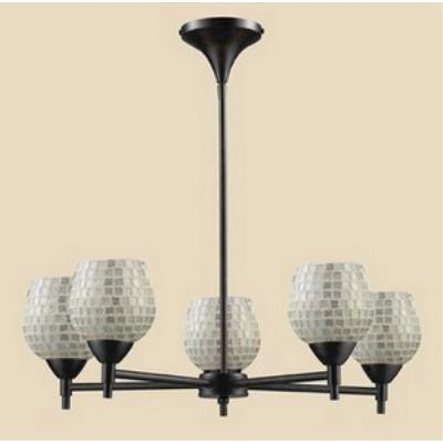 Elk Lighting 10155/5DR-SLV Celina - Five Light Chandelier