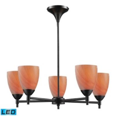 Elk Lighting 10155/5DR-SY-LED Celina - Five Light Chandelier