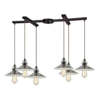Elk Lighting 10332/6 Six Light Chandelier