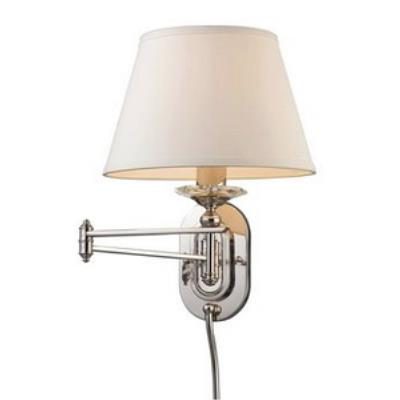 Elk Lighting 11209/1 One Light Swing Arm Wall Sconce