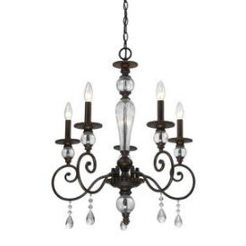 Elk Lighting 14072/5 Trier - Five Light Chandelier