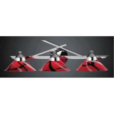 Elk Lighting 1472/3MAR Refraction - Three Light Wall Bracket