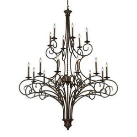 Elk Lighting 15044/12+6 Gloucester - Eighteen Light Chandelier