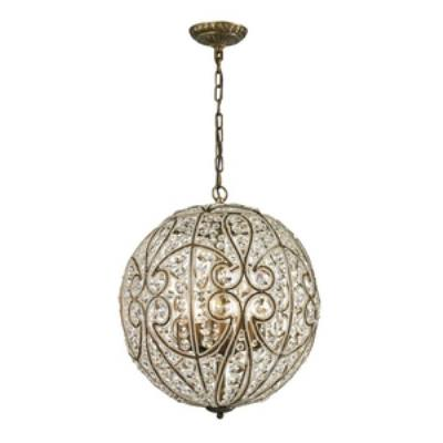 Elk Lighting 15975/8 Elizabethan - Eight Light Pendant