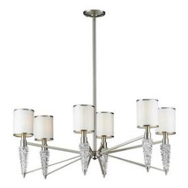 Elk Lighting 17127/6 Zanzabar - Six Light Chandelier