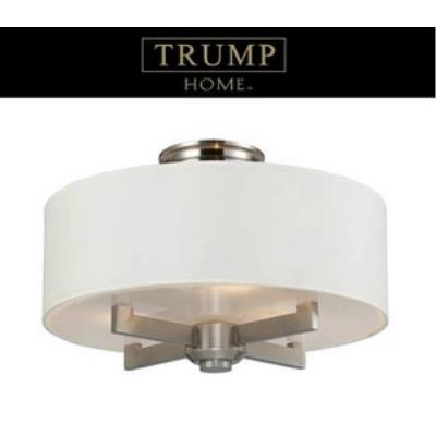 Elk Lighting 20152/3 Seven Springs - Three Light Semi-Flush Mount