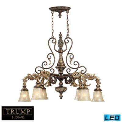 Elk Lighting 2161/6-LED Regency - Six Light Chandelier