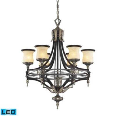 Elk Lighting 2431/6-LED Georgian Court - Six Light Chandelier
