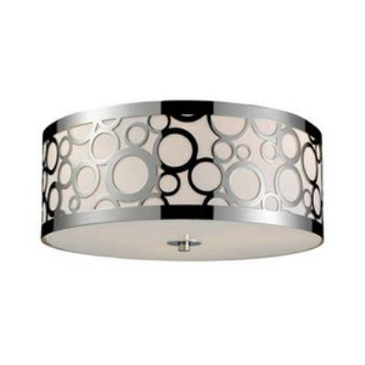 Elk Lighting 31024/3 Retrovia - Three Light Flush Mount