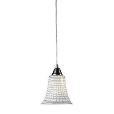 Elk Lighting 31139/1WH Vertigo - One Light Pendant