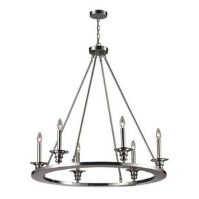 Elk Lighting 31225/6 Port Solerno - Six Light Chandelier