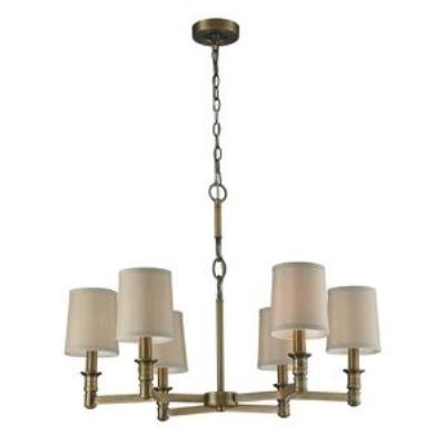 Elk Lighting 31266/6 Baxter - Six Light Chandelier