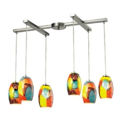 Elk Lighting 31539/6YW Surreal - Six Light Chandelier