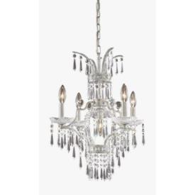 Elk Lighting 4055/4+1 La Fontaine Chandelier