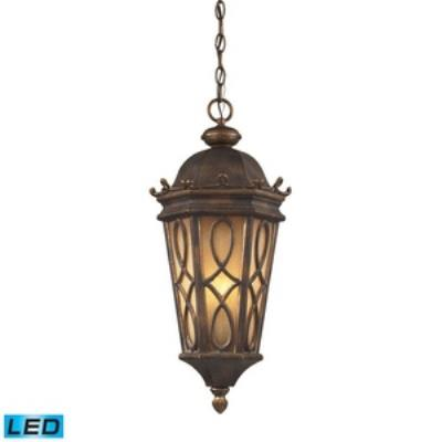 Elk Lighting 42003/3 Burlington Junction - Three Light Outdoor Pendant