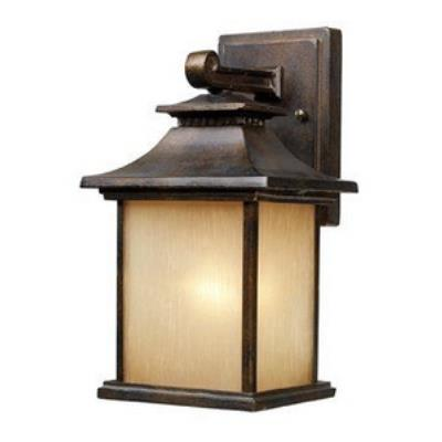Elk Lighting 42180/1 San Gabriel - One Light Outdoor Wall Sconce