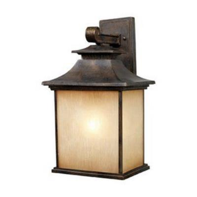 Elk Lighting 42182/1 San Gabriel - One Light Outdoor Wall Sconce