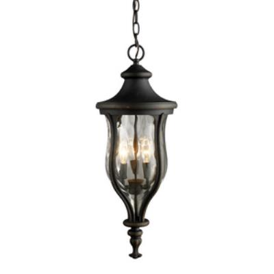Elk Lighting 42254/3 Grand Aisle - Three Light Outdoor Lantern