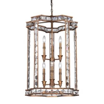 Elk Lighting 46068/3+3 Montclare - Six Light Pendant