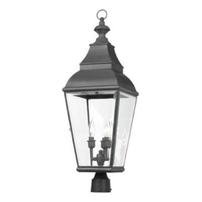 Elk Lighting 5217-C Bristol - Three Light Outdoor Post
