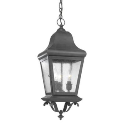 Elk Lighting 5314-C Belmont - Three Light Outdoor Pendant