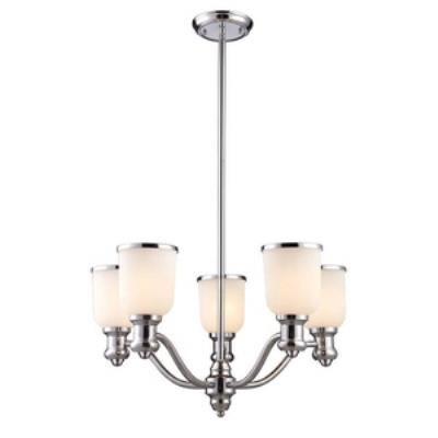 Elk Lighting 66153-5 Brooksdale - Five Light Chandelier