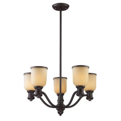 Elk Lighting 66173-5 Brooksdale - Five Light Chandelier