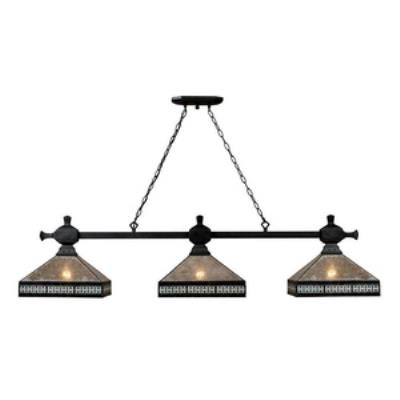 Elk Lighting 70061-3 Mica Filagree - Three Light Island